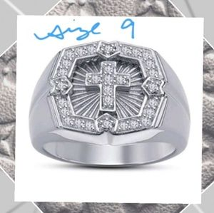 Other - Silver Cross Ring
